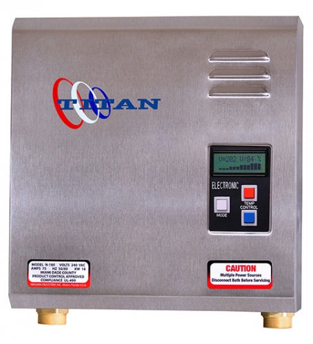 titan tankless n-270 model water heater